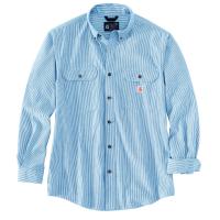 Carhartt Mens 104910 Loose Fit Midweight Chambray Long Sleeve Shirt - Dark Blue 2X-Large Regular
