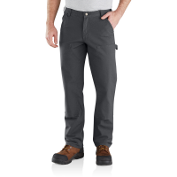 Carhartt Mens 103334 Factory 2nd Rugged Flex Relaxed Fit Double Front Pant - Shadow 32W x 30L