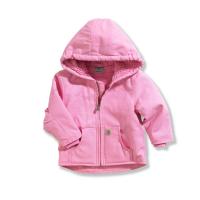 Carhartt  CP9460 Redwood Jacket Sherpa Lined - Girls - Pink 24 Months