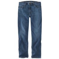 Carhartt Mens 104956 Force Relaxed Fit Low Rise 5 Pocket Jeans - Rainier 38W x 36L