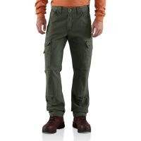 Carhartt | Men's B342 Cotton Ripstop Cargo Pant | Moss | 30W x 34L | Relaxed Fit | 100% Cotton Ripstop | 9.25 Ounce | Dungarees
