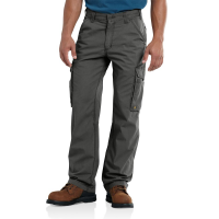Carhartt | Men's 101148 Closeout Force'Tappan Cargo Pant | Gravel | 46W x 30L | Relaxed Fit | 100% Ripstop Cotton | FastDry'Technology | Dungarees