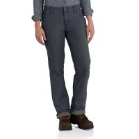 Carhartt  102213 Women's Original Fit Fleece Lined Crawford Pant - Coal 6W x Tall