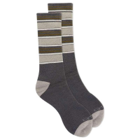 Carhartt Men's A0611 Cold Weather Midweight Crew Sock - Charcoal Large
