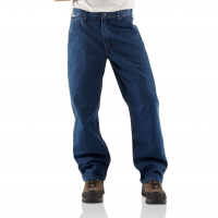 Carhartt Mens FRB13 Flame-Resistant Denim Loose-Original Fit Jean - Denim 50W x 36L