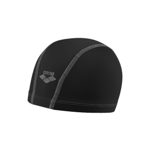 Image of Arena Unix Nylon Swim Cap Size OneSize Color Black/Black/Silver