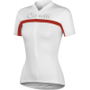 Castelli Promessa Short Sleeve Cycling Jersey Women's Size M Color White/White/Red
