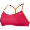 Nike Perfect Solid Drawstring Sport Swimsuit Top Women's Size L Color SirenRed