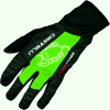 Castelli Leggenda Cycling Glove Men's Size XL Color Black/SprintGreen