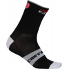 Castelli Rosso Corsa 13 Cycling Sock Men's Size L/XL Color Red