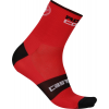 Castelli Rosso Corsa 9 Cycling Sock Men's Size S/M Color Red