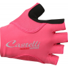 Castelli Rosso Corse Pave Cycling Glove Women's Size M Color Raspberry/PaleBlue