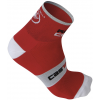 Castelli Rosso Corsa 6 Cycling Sock Men's Size S/M Color Black