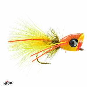 Umpqua Bass Popper Colonel Mustard 3943