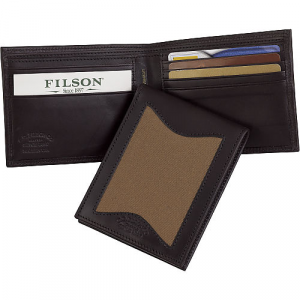 Filson Leather & Twill Outfitter Wallet