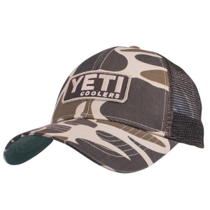 Yeti Custom Camo Cap With Patch 3287
