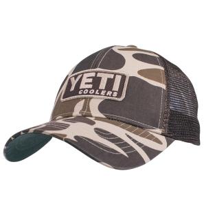 Yeti Custom Camo Cap With Patch 3287
