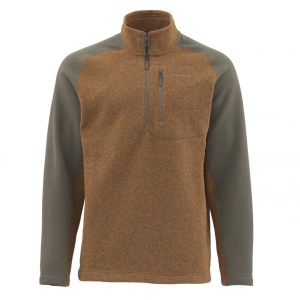 Simms Rivershed Sweater Quarter Zip 3360