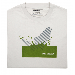 Sage Splashing Trout Short Sleeve Tee 3377