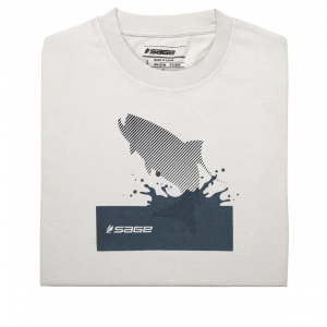 Sage Splashing Tarpon Short Sleeve Tee 3378