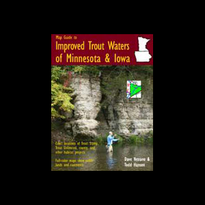 Map Guide To Improved Trout Waters of Minnesota and Iowa 2604