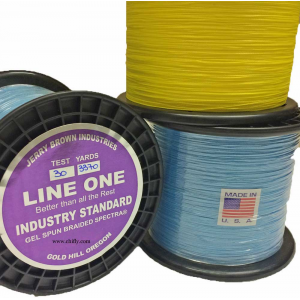 Jerry Brown Industries Line One Braided Spectra 2891