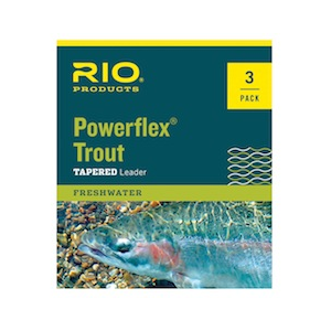 Rio Poweflex Trout Leader - Single and 3 Packs 427