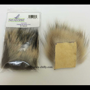 Coyote Premium Wing Fur 3544