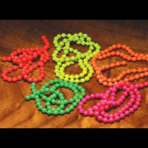 Florescent Bead Chain Eyes 637