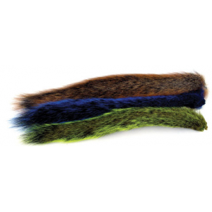 Dyed Grey Squirrel Tail 668