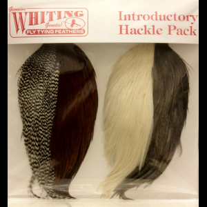 Whiting Introductory Hackle Pack- 4 Half Capes 2592