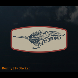 Fishpond Bunny Fly Sticker 4035