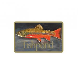 Fishpond Brookie Sticker 4037