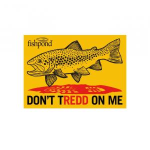Fishpond Don't TRedd On Me Sticker 4038