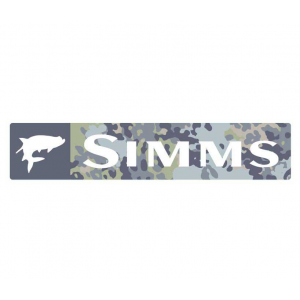 Simms Wordmark Decal - Mult Versions 4051