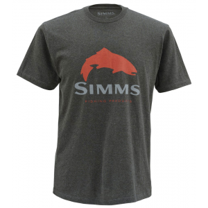 Simms Trout Logo SS Tee 4136
