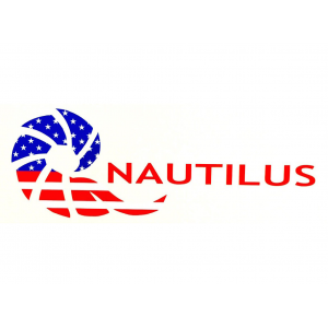 Nautilus American Flag Logo Die Cut Decal 4150