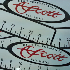 Scott 24 Inch Ruler Decal 4171