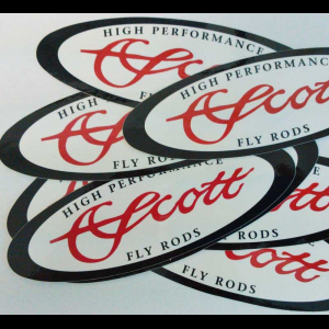 Scott Oval Logo Decal 4173