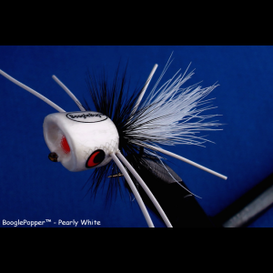 Boogle Bug Popper - Pearly White 4228