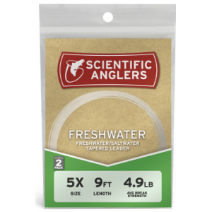 Scientific Anglers Nylon Leader 2-Pack 4289