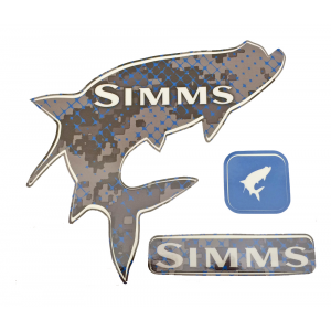 Simms Heavy Duty Tarpon Decal Pack 4334