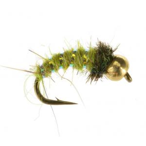 Beadhead Caddis Larva 4436