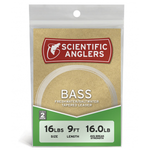 Scientific Anglers Bass Leader 2-Pack 4454