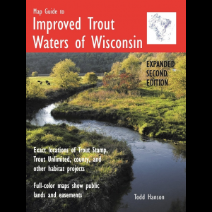 Map Guide To Improved Trout Waters of Wisconsin 1201