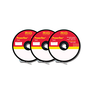 Rio Powerflex Tippet - 3 Pack 4496