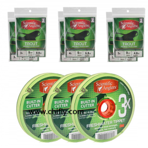 SA Leader and Tippet Pack - 3X-4X-5X 4549