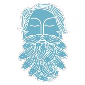 Loon Bearded Sticker 4600