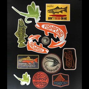 Fishpond Freshwater Sticker Bundle 4616