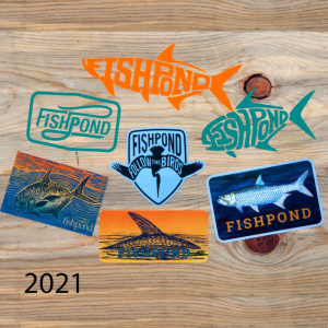 Fishpond Saltwater Sticker Bundle 4617